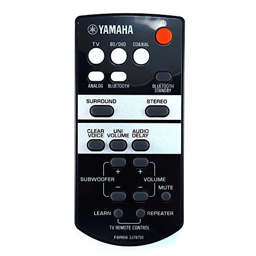 Genuino Yamaha YAS-103 Barra de sonido Mando A Distancia
