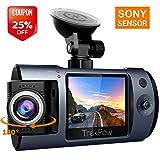 Dash Cam, TrekPow T1 Sony Sensor FHD 1080P Car DVR Dashboard Camera