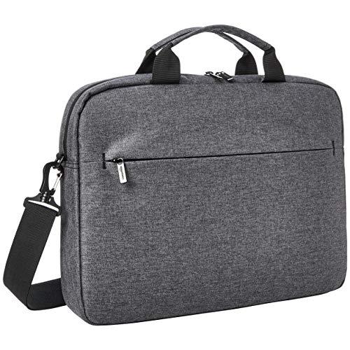 Amazon Basics – Urbane Laptop- und Tablet-Hülle, 15 Zoll (38 cm), grau