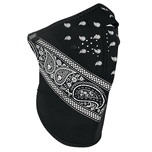 ZANheadgear 3 Panel Neo-X Neoprene Headwear, Paisley