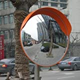 457123 Traffic Supermarket Wide Angle Security Curved Convex Road Mirror 45cm by Merry Tools