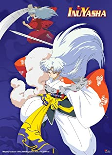 Great Eastern Entertainment Inuyasha and Sesshomaru Wall Scroll, 33 by 44-Inch