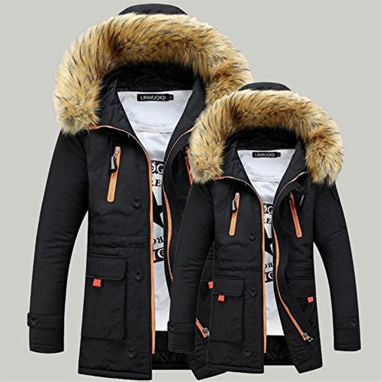 ZHUDJ The Long Winter Coat Cotton Men'S Youth Men'S Men'S Wear In Winter Coat Section