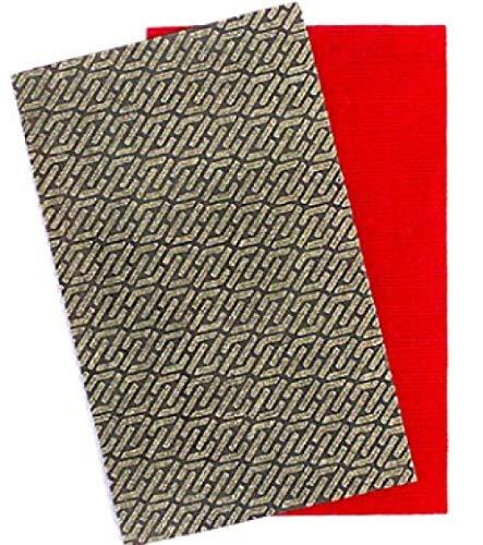 XVCHQIN 2 Sheets Diamond Sandpaper Electroplated Polishing Sheet Abrasive Sanding Paper Grit 60 120 200 400 Replacement Abrasive,3703,120