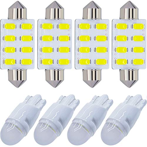 Yoper White Interior LED Light Package Kit Compatible with Ford F-150 1997-2014...