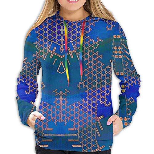 Jewel of The Nile Women's Comfort Pullover Graphics Hoodies Sweatshirt Hip-Hop Tops Hooded