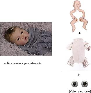 Binxing Toys Kits de muñecas Reborn sin Pintar Modelo de