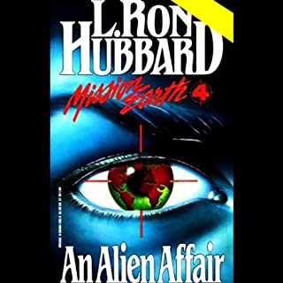 An Alien Affair audiobook cover art