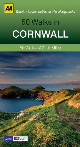 50 Walks in Cornwall (AA 50 Walks Series)