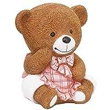 POLÈNE Kids Piggy Bank,Teddy Bear Piggy Bank for Girls,First Birthday Gifts for Girls,Cute Room Decor