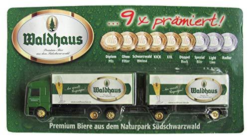 Brauerei Waldhaus Nr.01 - Premium Biere aus dem Naturpark Südschwarzwald - MB Actros - Hängerzug