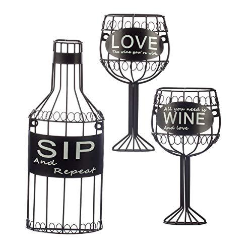 wine bottle wall plaque - 7