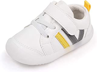 MASOCIO Chaussures Bébé Garçon Fille Premiers Pas Sneakers Plat Semelle Caoutchouc Antidérapant