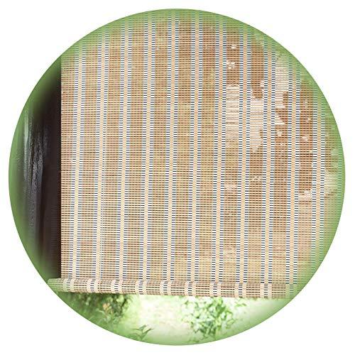Persiana Bambú, Cortinas Cortinas Privacidad Partición Balcón para El Hogar, Cortinas Decorativas Protección UV Prueba Polvo, Personalización Soporte PENGFEI (Color : A, Size : 90cmX135cm)