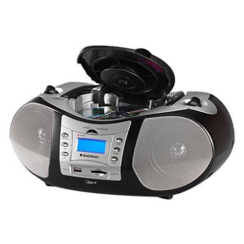 AudioSonic CD-1586 stereoradio met ingebouwde CD/MP3-speler (2 x 5 Watt, FM-tuner met PLL-synthesizer)