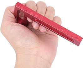 Mini braçadeira L-Square de liga de alumínio de precisão para carpintaria 100mm