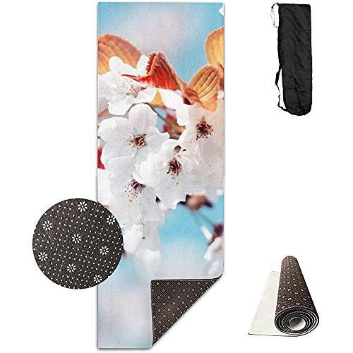 Emild Tappetini per Yoga per Yoga Antiscivolo ad Alta densità per tappetini da Yoga 180 cm