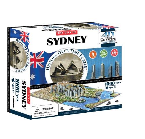 4D Urbano de Sydney Tiempo Puzzle (4D Paisaje Urbano) | 4D del Paisaje Urbano