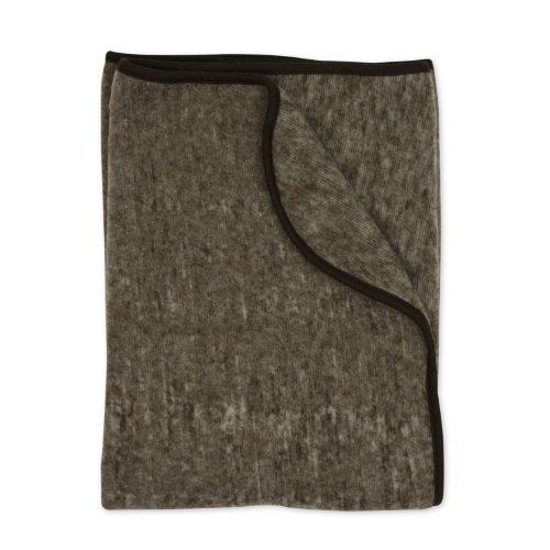 Cosilana Baby Decke, Farbe Braun melange - Vertrieb nur durch Wollbody®