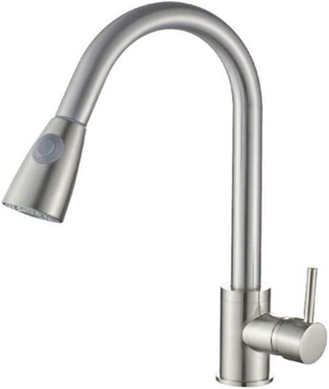 Moderne Messing Chrome Warmes Und Kaltes Wasser Kupfer Pull Wasserhahn Gemüse Becken Wasserhahn Küchenhahn Alle Kupfer Zeichnung Draht