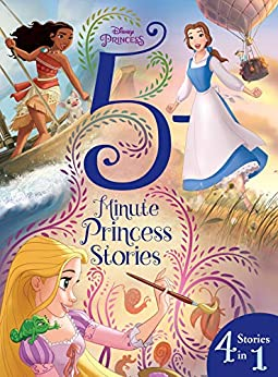 Disney Princess: More 5-Minute Princess Stories (Disney Storybook (eBook)) by [Disney Books, Disney Storybook Art Team]