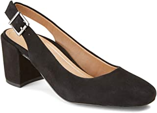 Women's Plaza Nareen Slingback Heel - Ladies Block Heels with Concealed Orthotic Arch Support