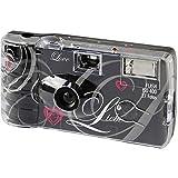Topshot - Love cámaras desechables (27 fotos, flash) negro #0182