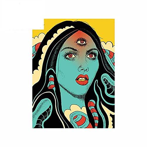 A/X 13 cm 9,8 cm para diviniación Mujer Pegatinas de Coche calcomanía cómica Divertida Pegatina de Graffiti rasguño