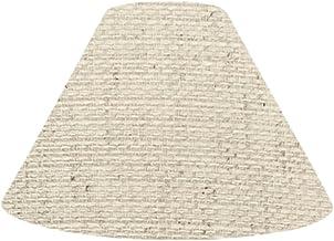 ランプ・シェード(lamp-shade) キャッチ式 交換用ランプシェード 綿麻キナリ 直径27cm K-27100
