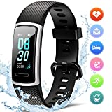 Fitness Tracker HR Activity Tracker per Battito Cardiaco, Calorie, Contapassi,...