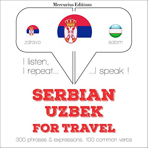 『Serbian - Uzbek. For travel』のカバーアート