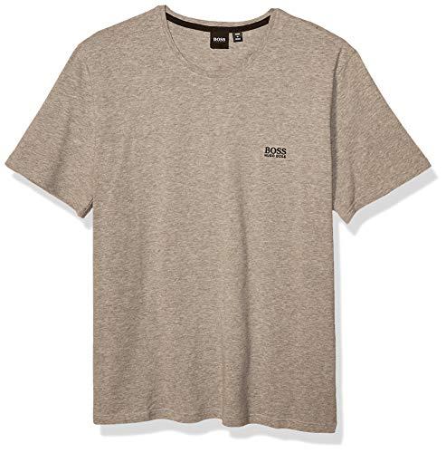 Hugo Boss Herren Mix&Match T-Shirt R 10143871 01 Pyjama-Oberteil (Top), Mittelgrau, Large