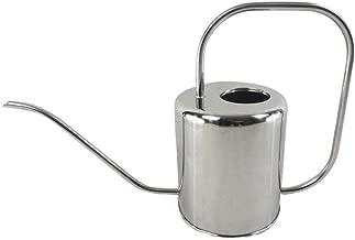 Asdfnfa Gardening Tools Watering Can Stainless Steel Watering Kettle Garden Spray Bottle Irrigation Tool 1500ml Long Mouth Spray Bottle Watering Pot Indoor Outdoor Sprayer