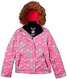 Roxy Snowboard Jacke Jet Ski Girl Jacket - Chaqueta de esquí para Mujer, Color Rosa, Talla DE: 12