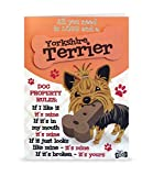 Wags and Whiskers Personable Funny WagsWhickers Card - Yorkshire Terrier, Multi (204020042)