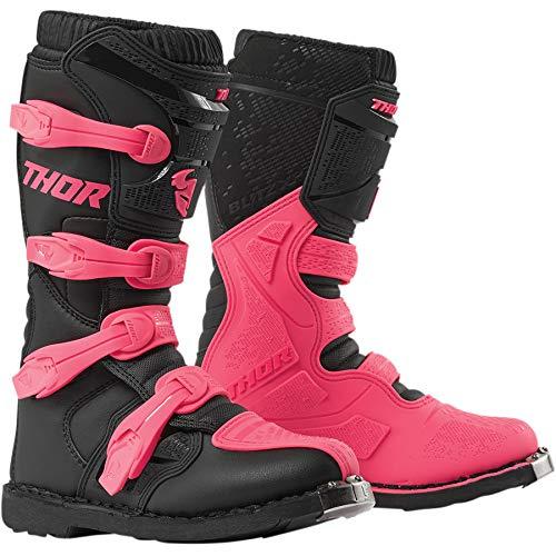 Thor Blitz XP Women Damen Frauen Boots Stiefel Enduro Motocross pink 2019, Größe: Größe 10 (EU 40)