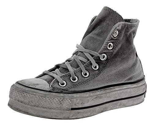 Converse Sneakers Ctas Hi Lift Canvas Ltd Gray/Gray/White 563113C (41 - Grigio)