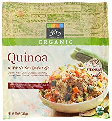365 Everyday Value, Organic Quinoa with Vegetables, 12 oz, (Frozen)
