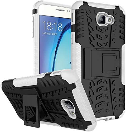 Capa Capinha Anti Impacto Para Samsung Galaxy J5 Prime e Galaxy On 5 2016 Case Armadura Hybrid Reforçada Com Desenho De Pneu - Danet (Preto com branco)