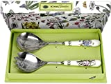 Portmeirion Botanic Garden Salad Server Set...