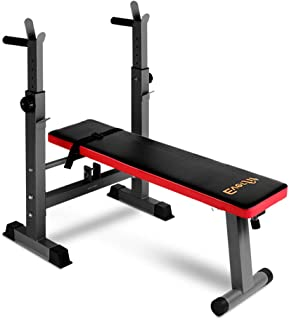 Weight Bench Flat Everfit Bench Press Home Gym Fitness Exercise Training Equipment