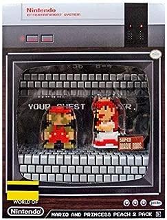 SDCC 2017 Mario and Princess Peach 2 Pack Jakks Pacific Entertainment Earth Nintendo