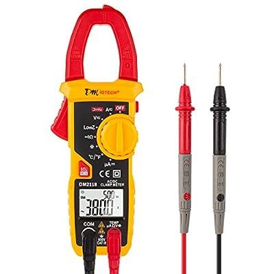 Digital Multimeter Ammeter Voltage Ohmmeter Current Clamp Meter Tester Handheld
