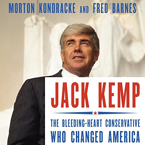 Jack Kemp audiobook cover art