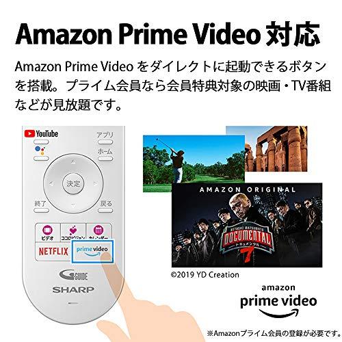 シャープ55V型有機ELテレビ4Kチューナー内蔵AndroidTVMedalistS1搭載2020年モデル4T-C55CQ1