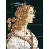 Artery8 Botticelli Idealized Portrait of A Lady As Nymph XL