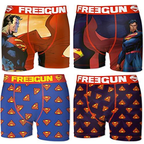 FREEGUN Boxer unitario Superman Talla L para Hombre