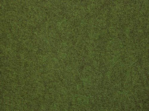 misento Rasenteppich Easy Kunstrasen strapazierfähig, robust mit Drainage Noppen braun, grün, 133 x 400 cm
