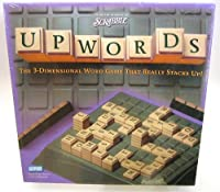 Upwords The 3-Dimensional Word Game That Really Stacks Up! 2002 Edition by Parker Brothers