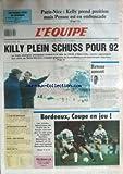 EQUIPE (L') [No 13014] du 11/03/1988 - KELLY - PARIS-NICE - PENSEC - ALBERTVILLE - KILLY PLEIN SCHUSS POUR 92 - BORDEAUX - COUPE EN JEU - BOXE - WHITAKER - BASKET - ORHTEZ - MILAN - RUGBY - ORSO - AUTO - F1.